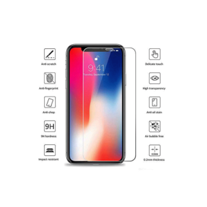 iPhone X Panzerglas Folie