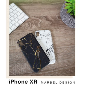 iPhone XR Hardcase Hülle (Marmor Design)