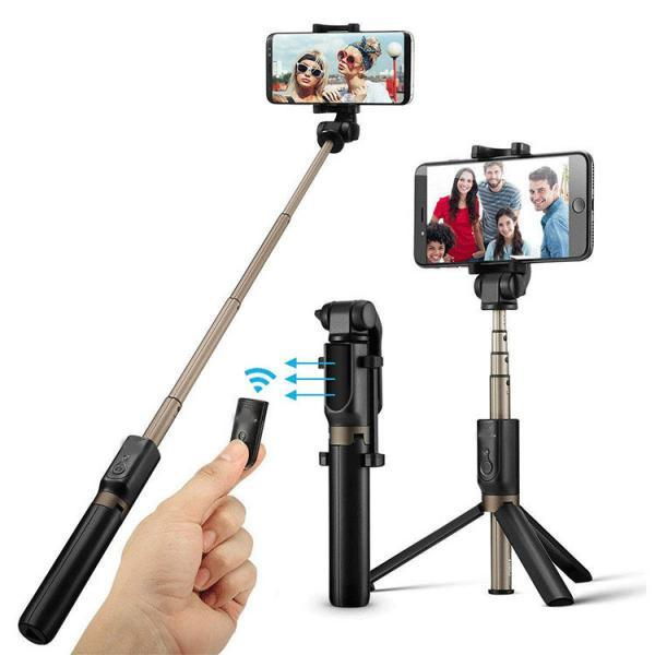 Bluetooth Selfie Stick Stativ 3 in 1